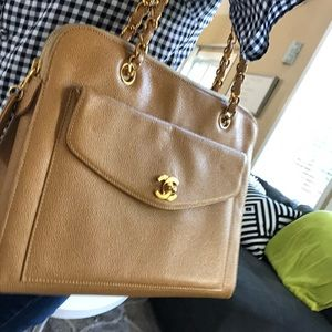 Authentic vintage Chanel shoulder bag